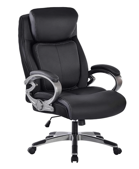 REFICCER High-Back Executive Bonded Leather Chair
