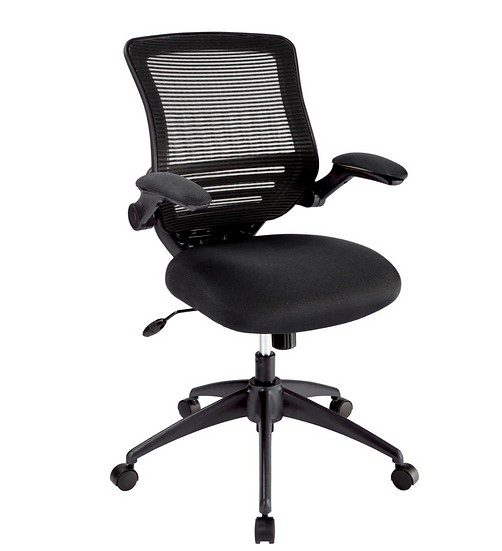 Realspace® Calusa Mesh Managerial Mid-Back Chair