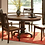 Thumbnail: American Heritage Collection Pedestal Table (Chocolate Oak)