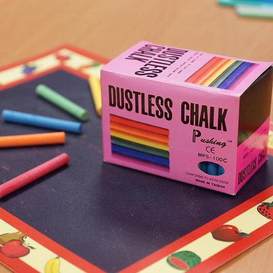 Dustless Coloured Chalk