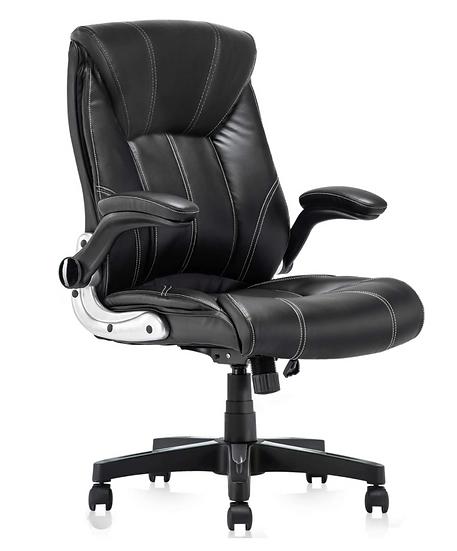 Ergonomic High Back Chair (Black)