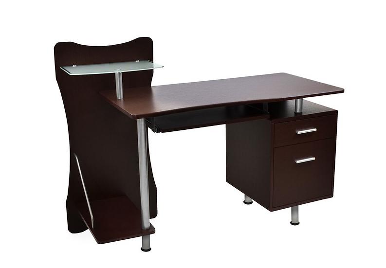 """Techni Mobili 52"""" Computer Desk (Chocolate)"""