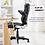 Thumbnail: Ergonomic High Back Chair (Black)