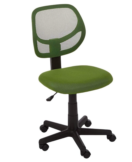 Low Back Upholstered Mesh Office Chair