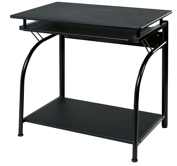 OneSpace Stanton Computer Desk with Pullout Keyboard Tray