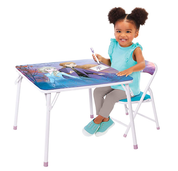 Disney's Frozen2 Kids Table and Chair Set