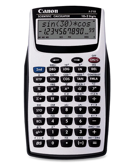 Canon F710 Dual Line Scientific Calculator