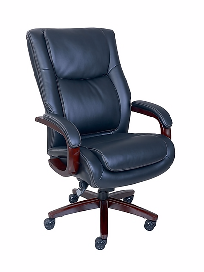 La-Z-Boy Winston Leather Big and Tall Executive Office Chair (Black)