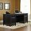 """Thumbnail: Sauder Edge Water 65""""W Executive Desk (Estate Black Finish)"""
