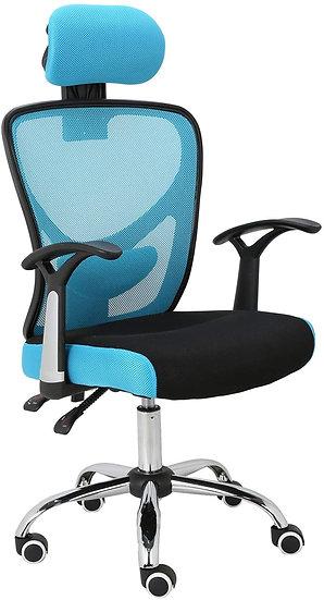 Ergonomic Home Office Mesh Chair (Blue)