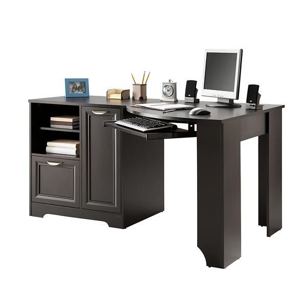 "Realspace® Magellan 60""W Corner Desk (Espresso)"