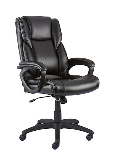 Kelburne Luxura Faux Leather Computer and Desk Chair