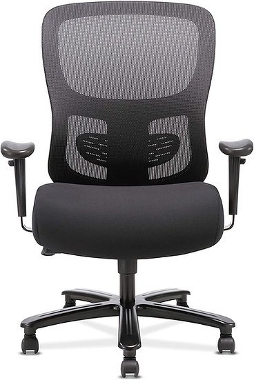 Sadie Big and Tall Office Computer Chair, Height Adjustable Arms with Adjustable
