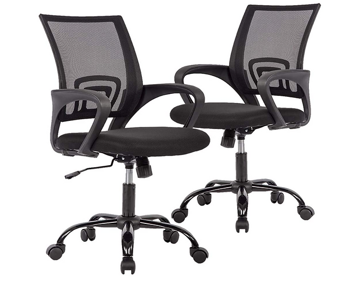 Cavalier Ergonomic Mesh Chair - Black