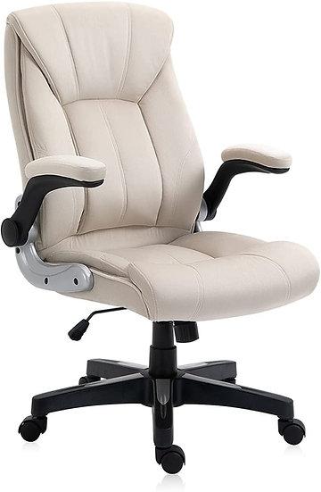 Yamasoro Ergonomic High Back Chair - Beige