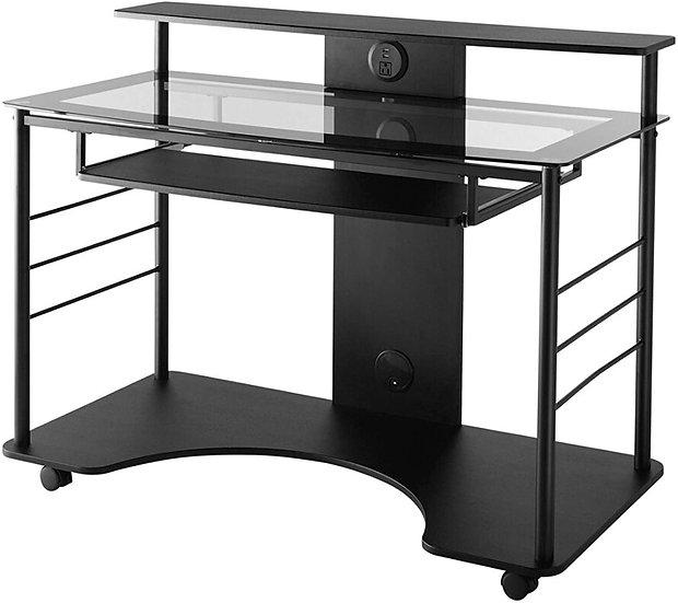 Realspace Mobile Tech Desk , Black