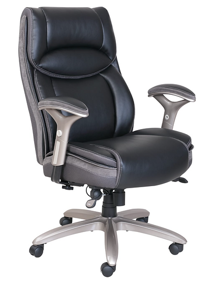 Serta® Jennings Big And Tall Bonded Leather High-Back Exec Chair