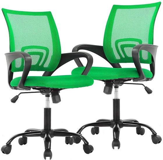 Cavalier Ergonomic Mesh Chair - Green