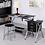 Thumbnail: Adjustable Tabletop Versatile Craft Workstation w/ Stool and 3 Storage Drawers
