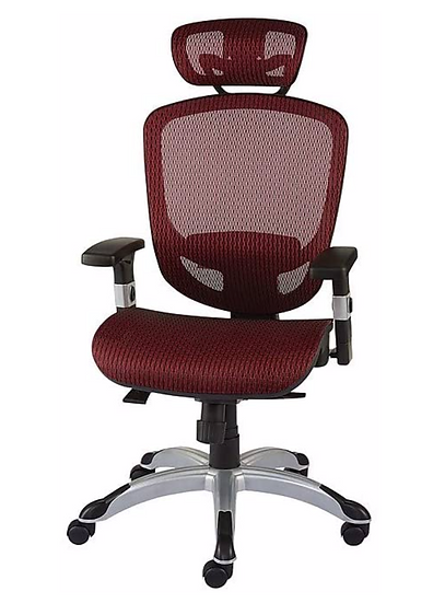 Hyken Technical Mesh Task Chair (Red)