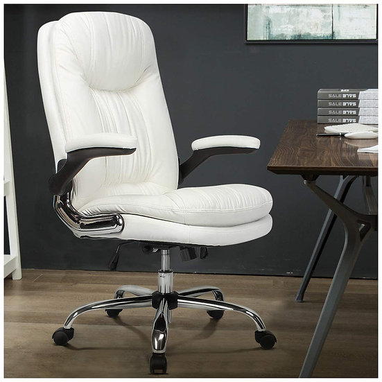 B2C2B Ergonomic Office Chair High Back Desk Chair with Flip-Up Arms