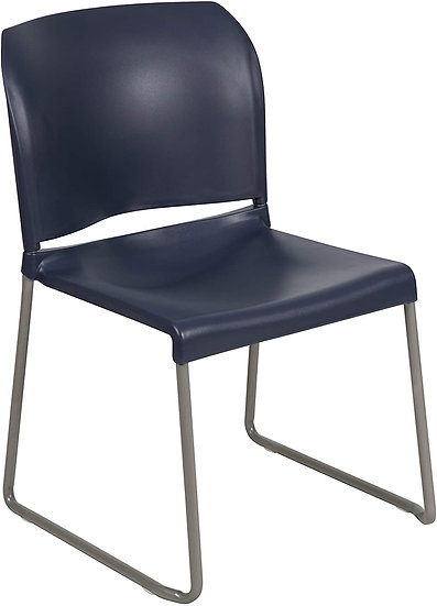 Flash Furniture Contoured Stack Sled Base Chair