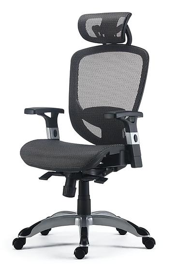 Hyken Technical Flex Fit Mesh Task Chair (Charcoal Grey)