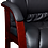 Thumbnail: Boss Office Mid Back Wood-Finished Guest Chair