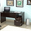Thumbnail: Inval Curved Top Desk (Espresso-Wengue Finish)