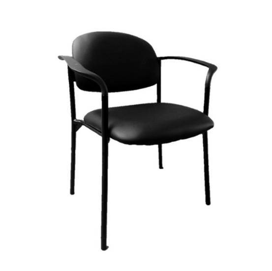 Milano PU Leather Visitor's Chair