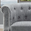 Thumbnail: Kjellfrid 32'' Wide Tufted Linen Barrel Chair