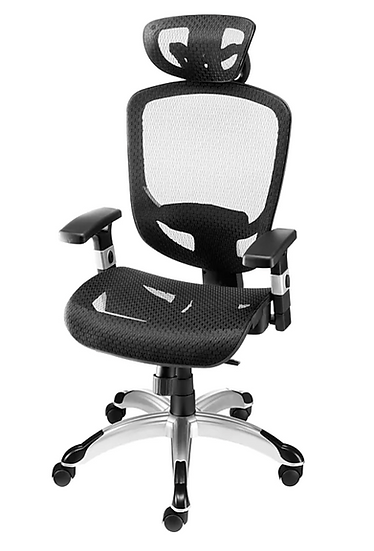 Hyken Technical Flex Fit Mesh Task Chair (Black)
