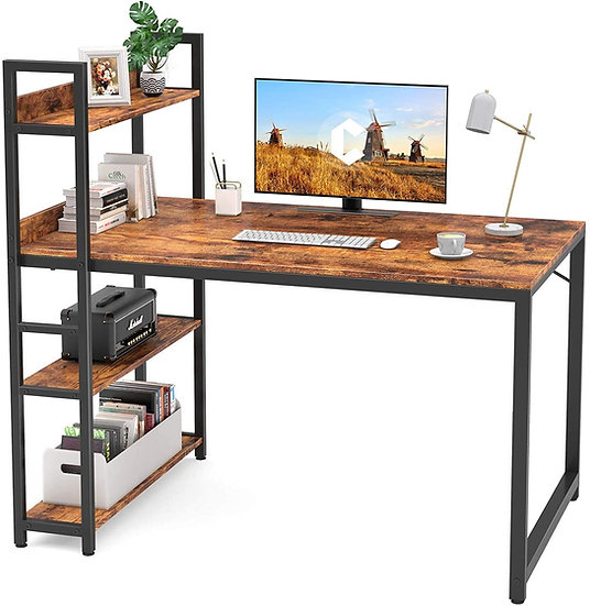 CubiCubi Computer Office Small Desk 47', Study Writing Table
