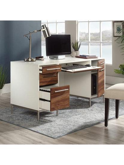 "Sauder 60""W Executive Desk"