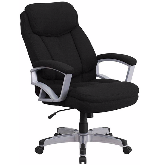 Hercules Big and Tall Executive Office Chair (Black Fabric)