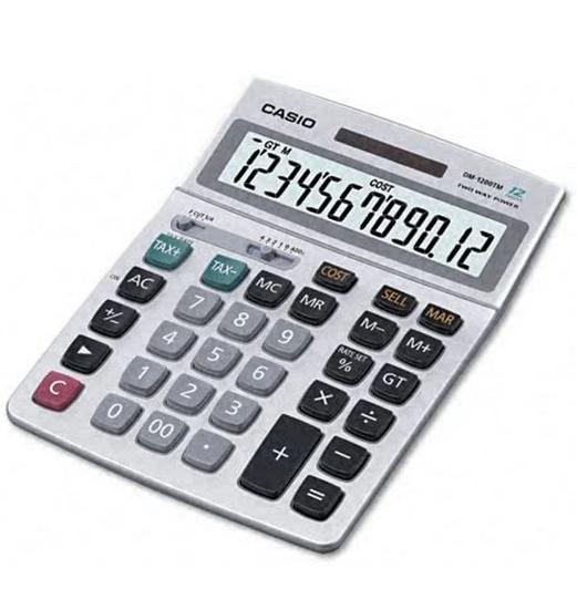 Casio DM-1200TM Desktop Calculator