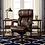 Thumbnail: La-Z-Boy Fairmont Big & Tall Executive Highback Chair with Memory Foam (Brown)