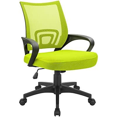 Devoko  Ergonomic  Swivel Mesh Chair - Green