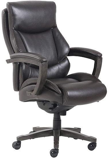 Thomasville Edinger Leather Big & Tall Executive Chair