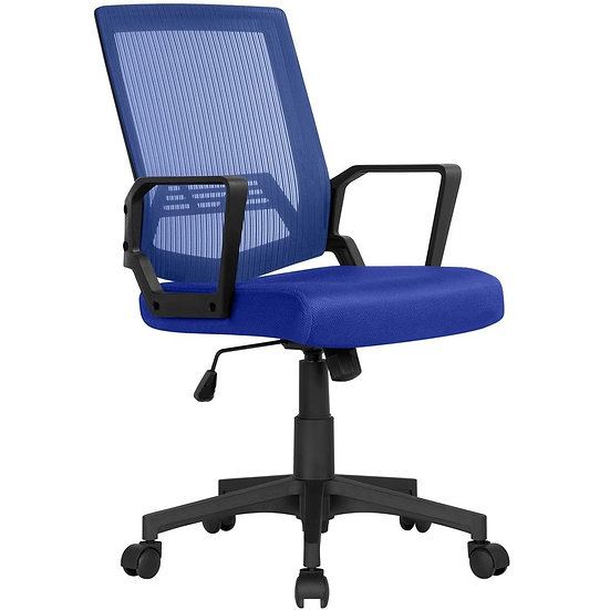 Yaheetech Mesh Office Chair (Blue)