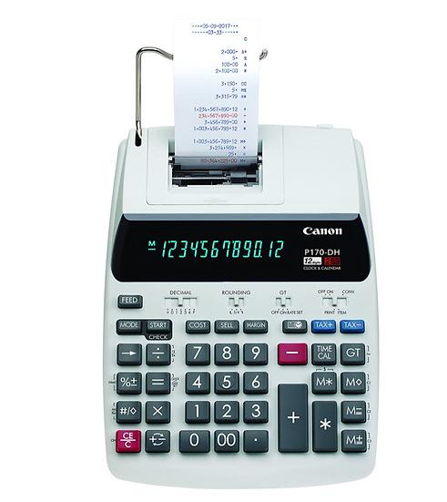 Canon P170-DH Desktop Printing Calculator