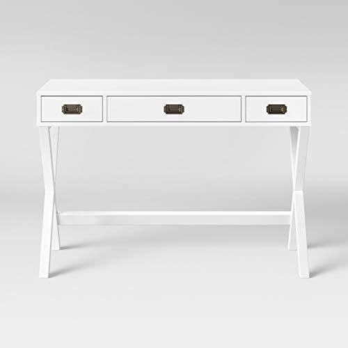 Ameriwood Campaign Desk - White