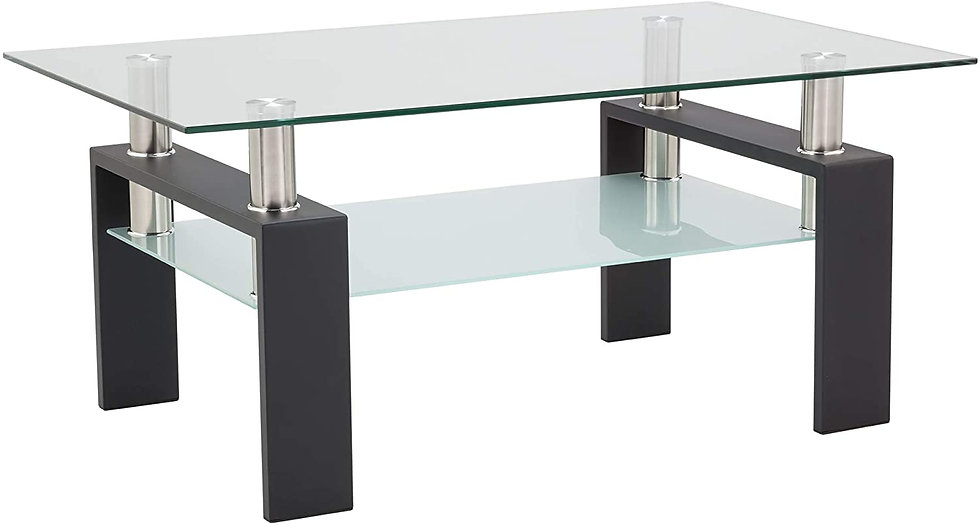 Depointer Life Glass Coffee Table