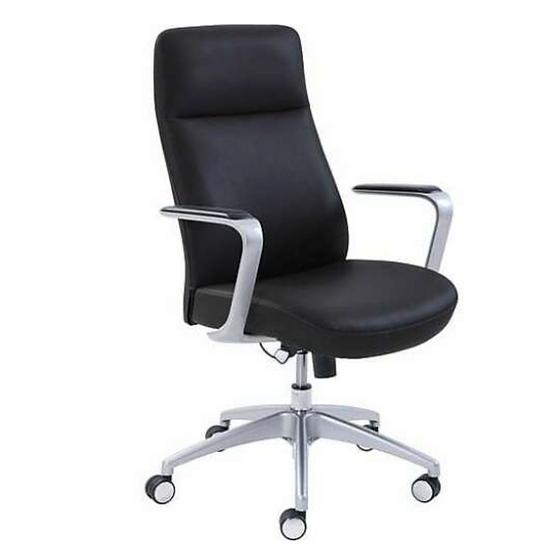La-Z-Boy Savona Bonded Leather Adjustable Height Ergonomic Managers Chair