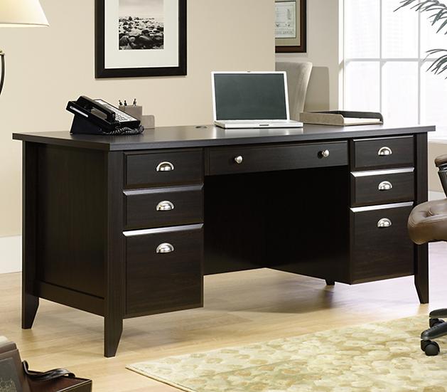 Sauder: Shoal Creek Executive Office Desk