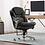Thumbnail: Serta® Smart Layers Siena Bonded Leather Mid-Back Chair Black