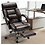 Thumbnail: Rimiking Big & Tall Executive High Back Chair with Footrest (Brown)