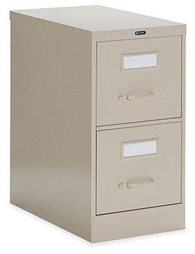 Global Vertical 2 Drawer Filing Cabinet