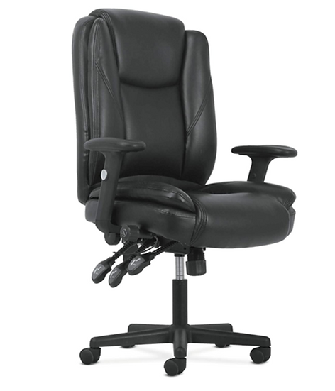 Hon Highback Leather Chair with Lumbar Support