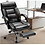 Thumbnail: Rimiking Big & Tall Executive High Back Chair with Footrest (Black)